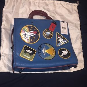 CoachxNasa Space Patch Rogue bag
